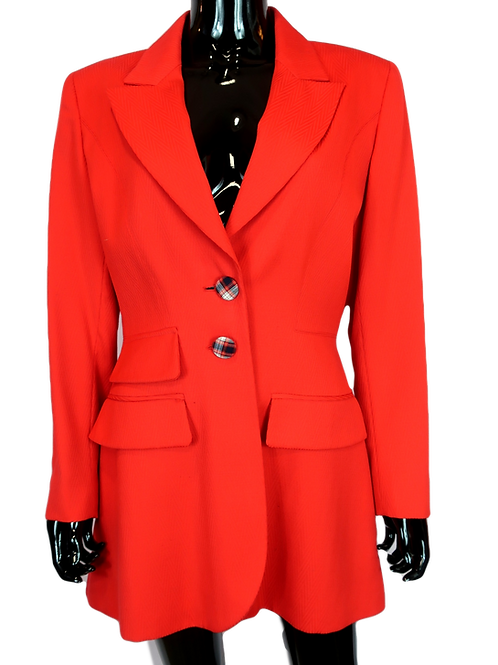 Christian Dior Red Blazer