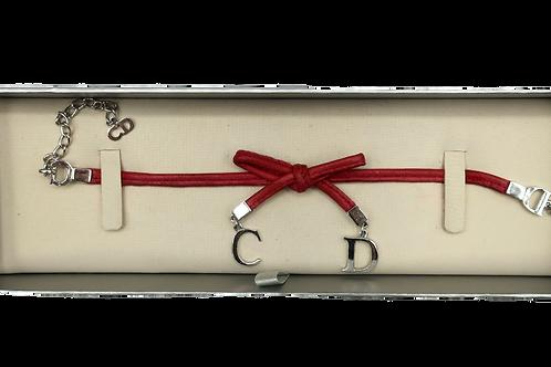 Dior Leather Logo Bracelet