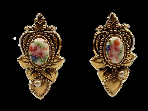 Zoe Coste Medallion Clip-on Earrings