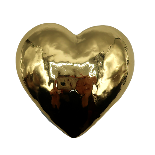 YSL Heart Brooch