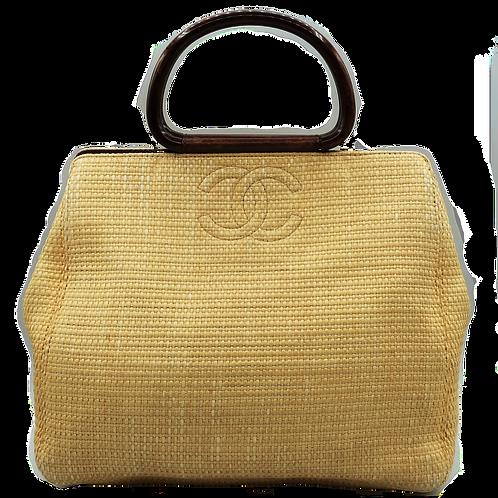 Chanel Raffia Handbag