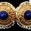 Thumbnail: Guy Laroche Lapis Lazuli Earrings