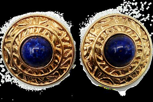 Guy Laroche Lapis Lazuli Earrings