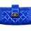 Thumbnail: Chanel Blue Patent Leather Wallet