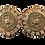 Thumbnail: Pierre Balmain Medallion Earrings