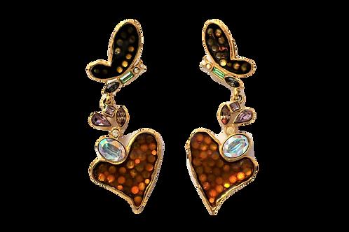 Christian Lacroix Butterfly Earrings