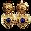 Thumbnail: Agatha Heart Earrings
