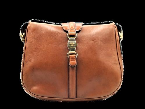 Céline Camel Leather Bag