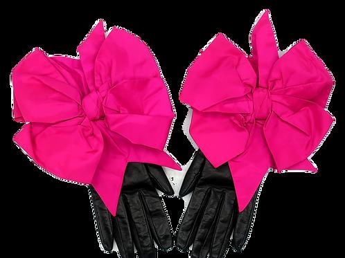 Isabel Canovas Leather Gloves