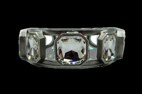 Yves Saint Laurent Silver Cuff Bracelet