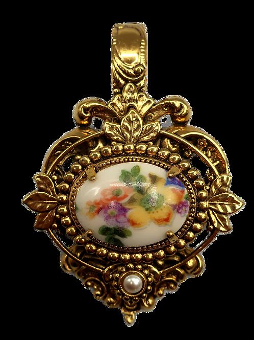 Zoe Coste Medallion Pendant