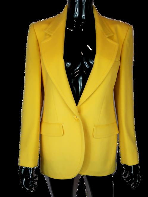 Burberry's Yellow Blazer