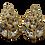 Thumbnail: YSL Crystal Earrings