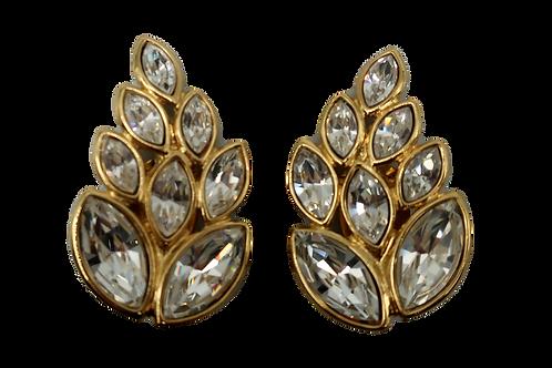 YSL Crystal Earrings