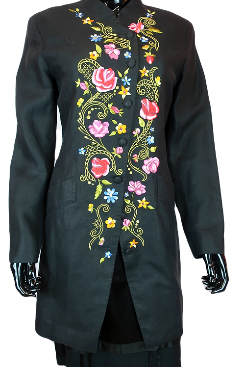 Kenzo Embroidered Coat