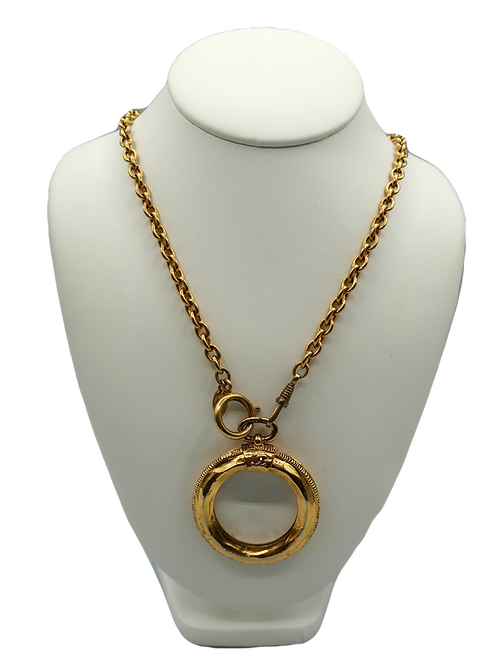 Chanel Loupe Necklace