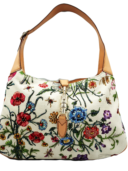 Gucci Jackie Flora Bag Limited Edition
