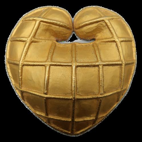 Rochas Heart Brooch