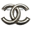 Thumbnail: Chanel Silver Double-C Brooch