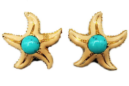 Carlo Zini Sea Star Earrings