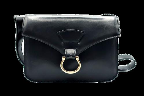 Celine Black Box Leather Bag