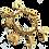 Thumbnail: Agatha Gold Bracelet