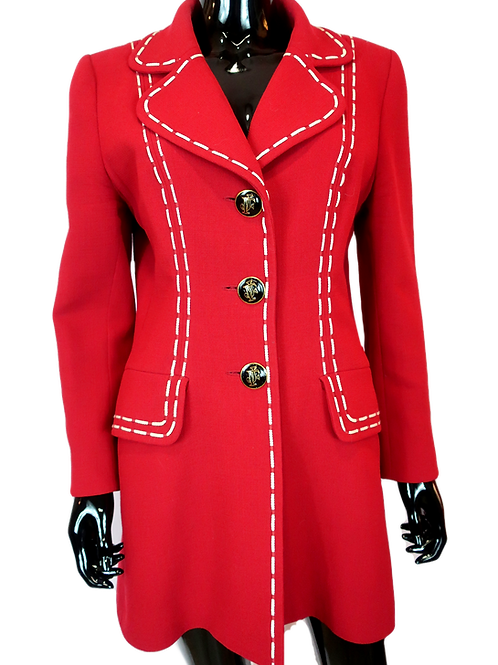 Jacques Fath Red Coat