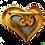Thumbnail: Rochas Heart Brooch