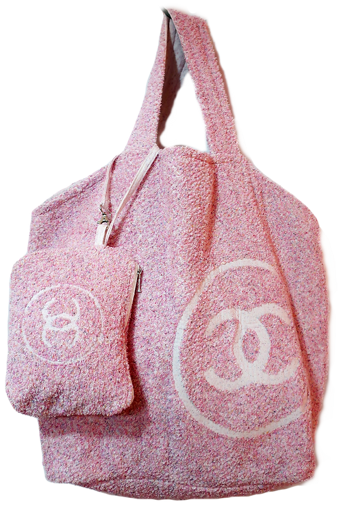 Chanel Beach Tote & Towel Set