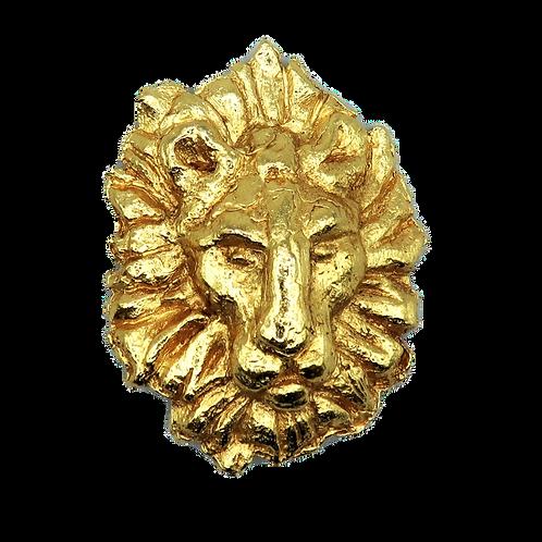 YSL Lion Brooch