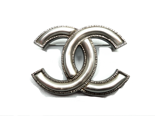 Chanel Double-C Brooch