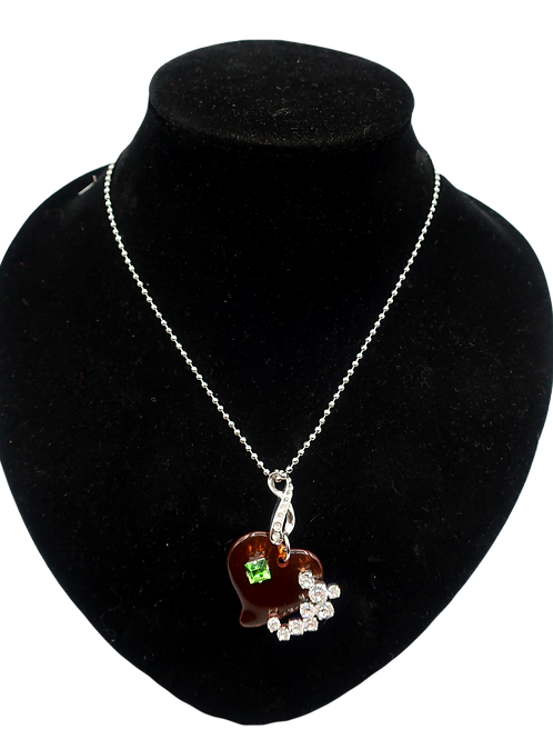 Christian Lacroix Heart Necklace
