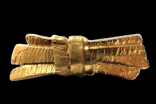 YSL Gold Pin Brooch