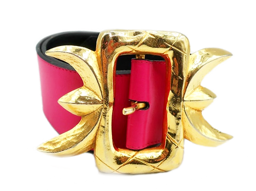 Christian Lacroix Pink Belt