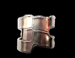 Hermès Silver Empreinte Bracelet