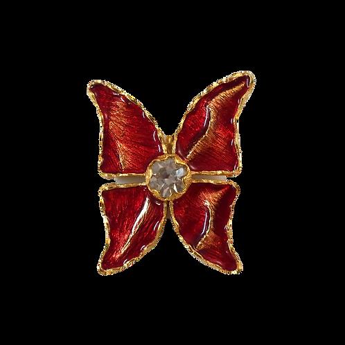 YSL Butterfly Brooch