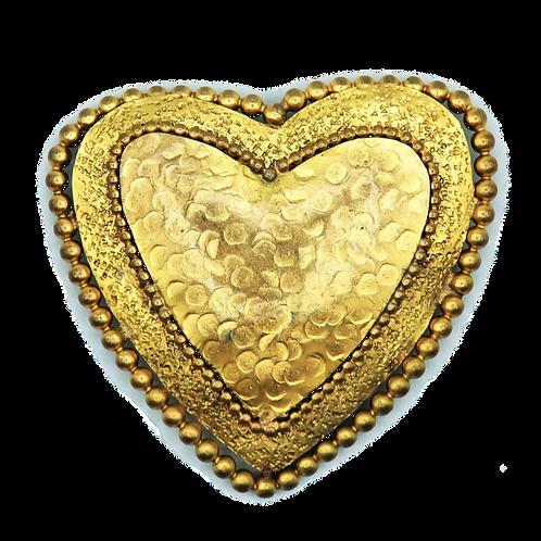 Woloch Heart Brooch