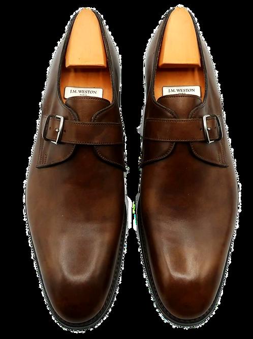 Hermès Brown Leather Men Shoes