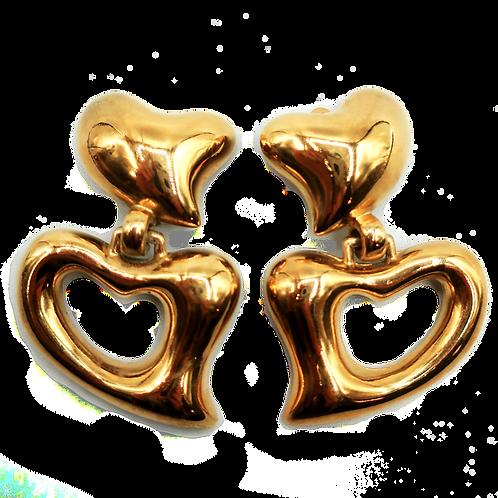 Marie Claire Heart Earrings