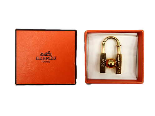 "Hermès ""Embellir La Terre"" Charm Lock"