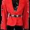 Thumbnail: Yves Saint Laurent Red Blazer