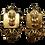 Thumbnail: Zoe Coste Medallion Clip-on Earrings