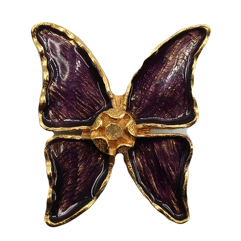 YSL Butterfly Brooch