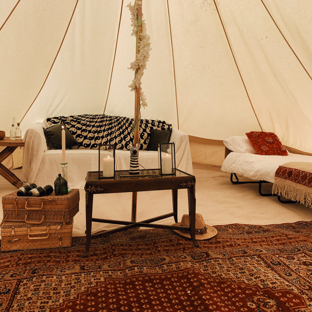 The Rewilding Lancaster Camping