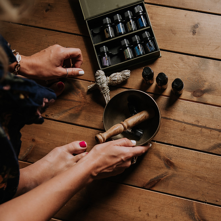 Essential Oils to Support  Your Wellbeing with Mindy Coe