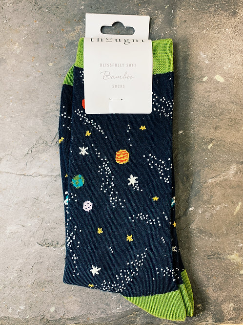 Bamboo Space Socks