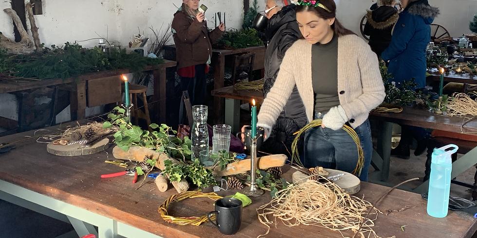 Seasonal Willow Wreath Making Workshop
