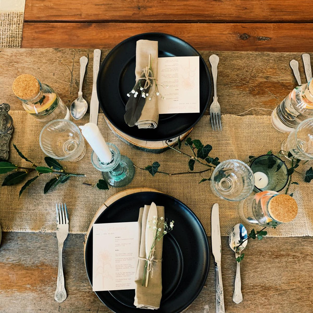 The Rewilding, Event Dressing, Michelle Parry, Supper Clubs