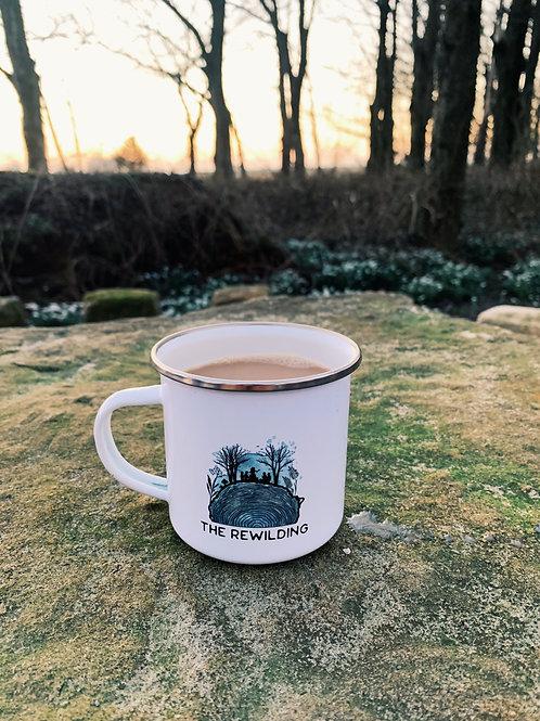 Rewild Yourself, Enamel Mug