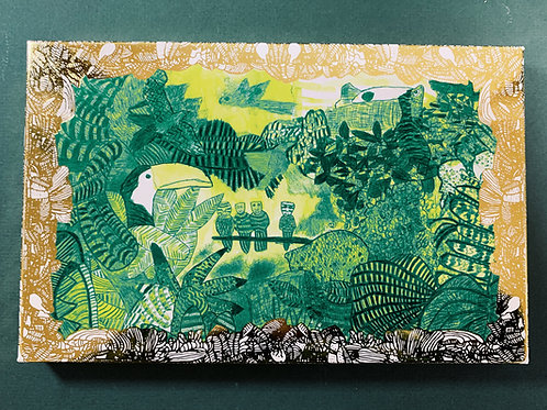 Dark Chocolate with White Truffle Honey - Abundance Postcard